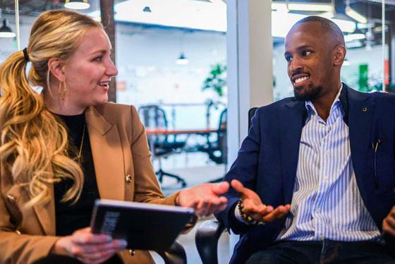 Entrepreneurship - Shipping Company Teamwork and Services